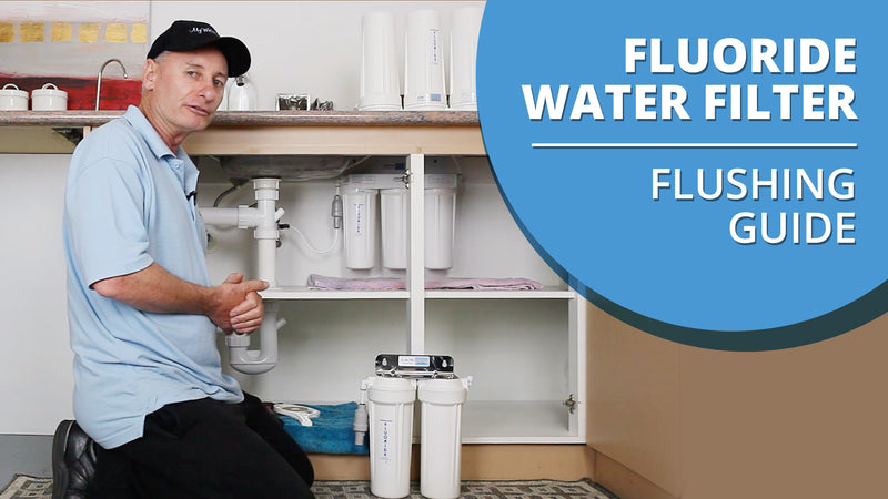 How to Flush your Fluoride Water Filter [VIDEO]