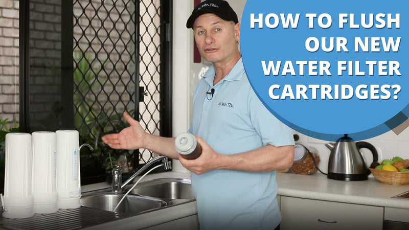 [VIDEO] How and Why to flush your new Water Filter Replacement Cartridges
