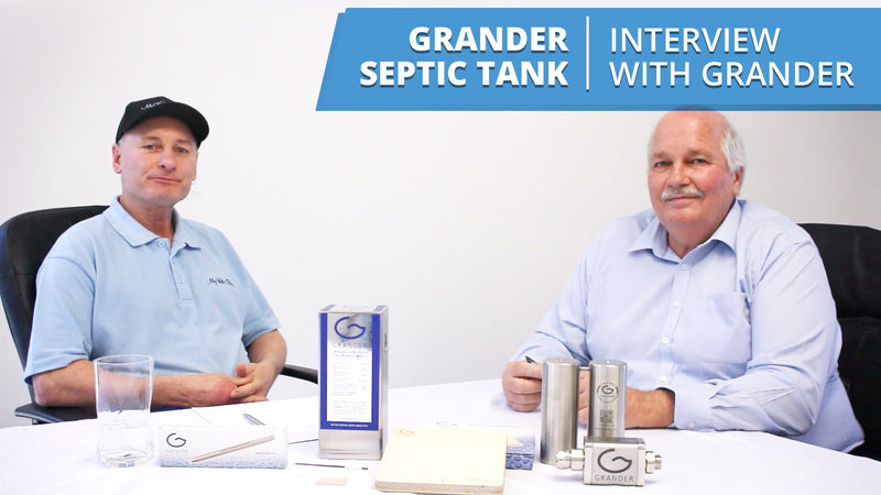 [VIDEO] Grander for Septic Tanks - Interview with Wayne from Grander