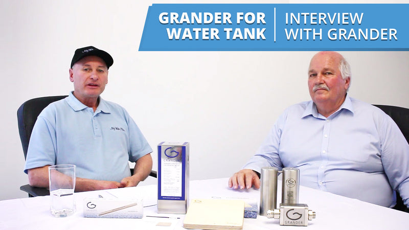 [VIDEO] Grander for Water Tank - Interview with Wayne from Grander