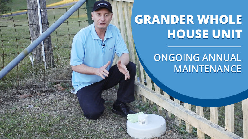 [VIDEO] Grander Whole House Unit - Ongoing Annual Maintenance