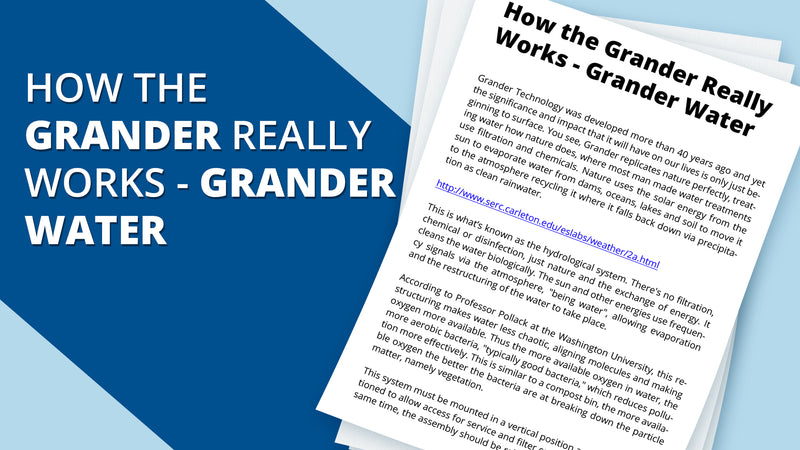 How the Grander Really Works - Grander Water
