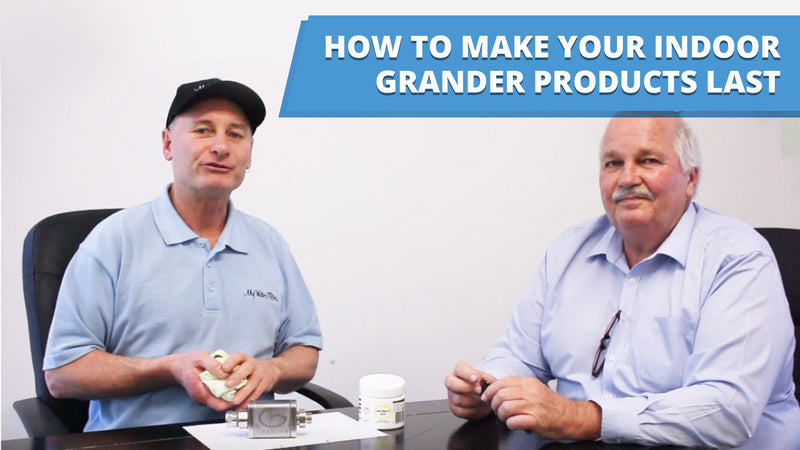 [VIDEO] How to make your Indoor Grander Products Last - Product Care Video