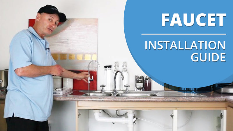 [VIDEO] How to Install a Faucet for an Under Sink Water Filter
