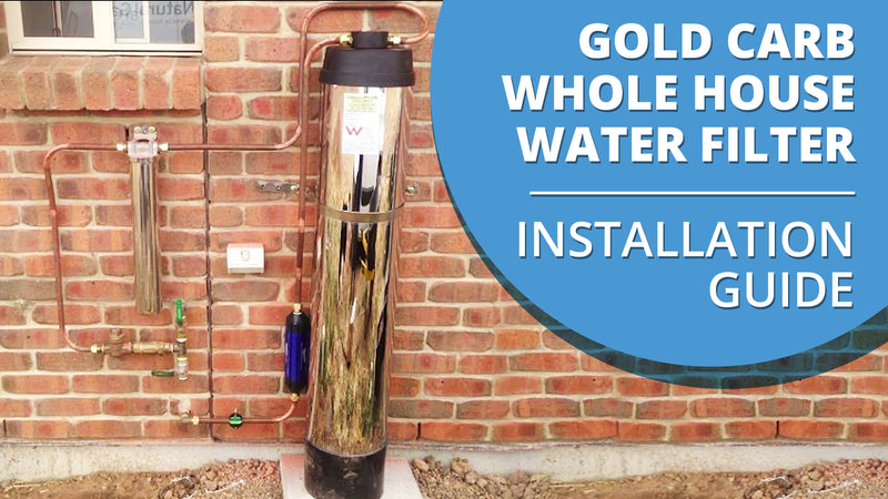 [VIDEO] How to install your Gold Carb Whole House Water Filter - Purification and Water Softener System
