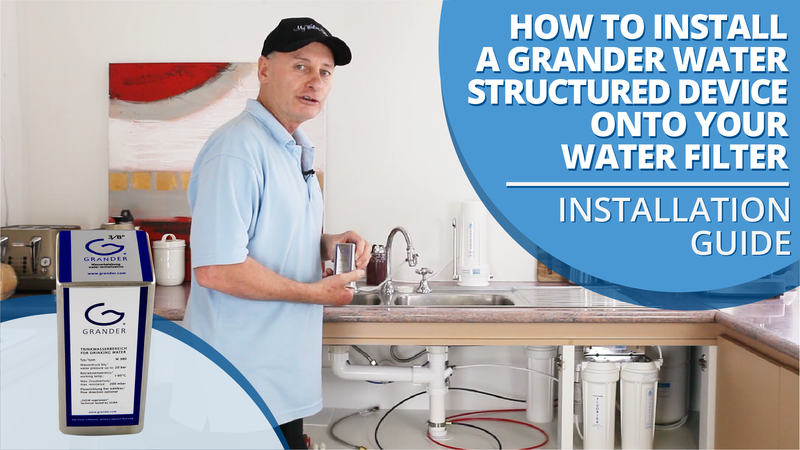 [VIDEO] How to Install a Grander Water Structuring Device onto your Water Filter