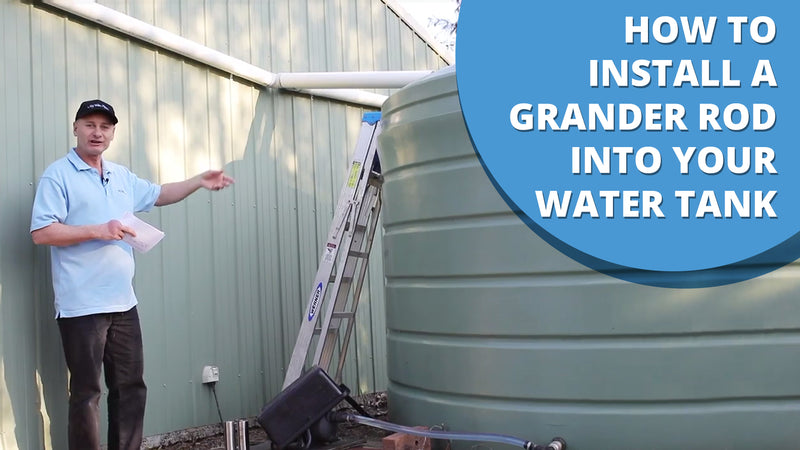 How To Install A Grander Rod In Your Water Tank