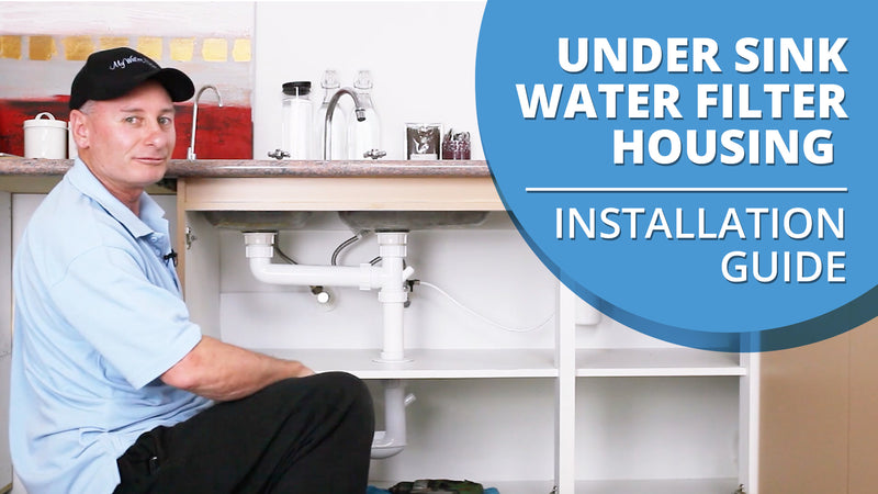 [VIDEO] How to Install an Under Sink Water Filter Housing