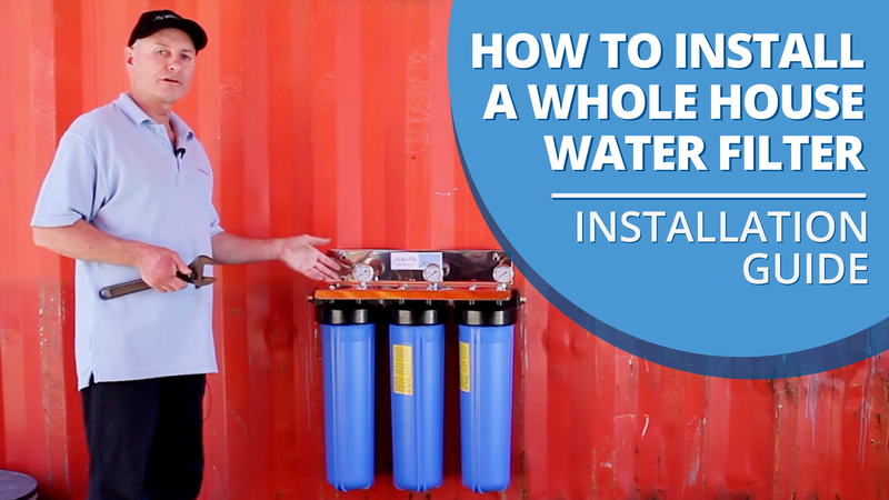 [VIDEO] How to Install a Whole House Water Filter