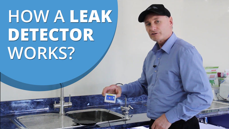 [VIDEO] Leak Detector Demonstration - How a Leak Detector Works and Why Every Home Should Have One