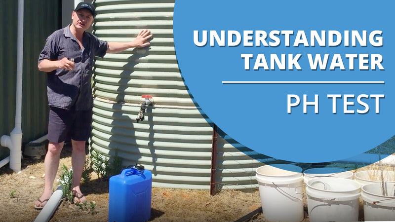 [VIDEO] Understanding the Rain Water that comes out of your Rain Water Tank - pH Test Demonstration
