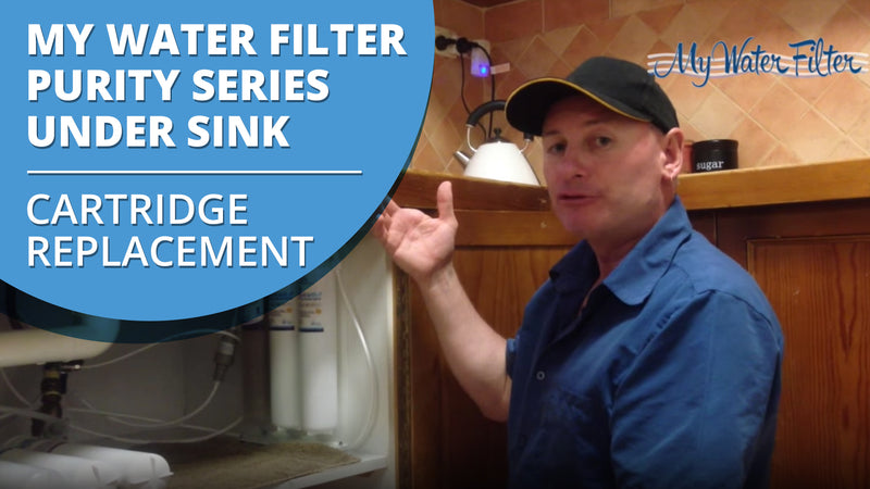 [VIDEO] How to Change your My Water Filter Purity Series Under Sink Water Filter Cartridges