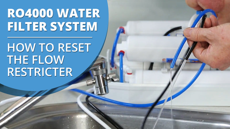 [VIDEO] How to Reset the Flow Restricter on the RO4000 for Fast Flowing Waste Water Hose