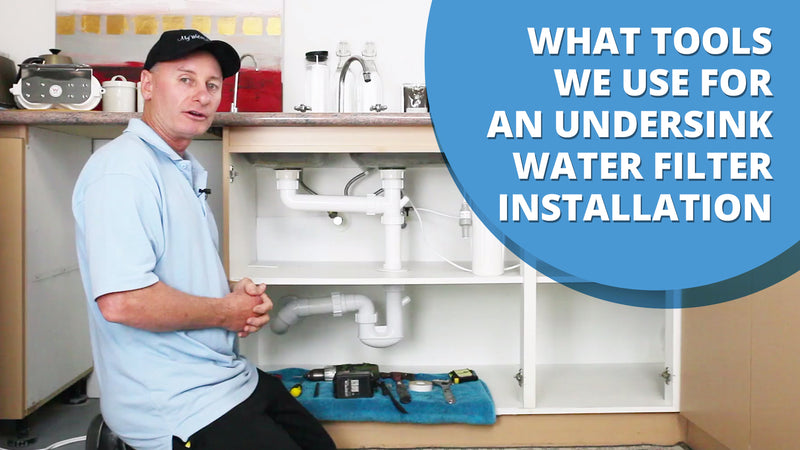 Tools For Installing An Under Sink Water Filter [VIDEO]