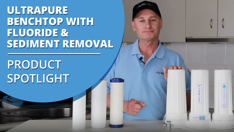 [VIDEO] ULTRAPURE 0.5 Micron Ceramic Triple Bench Top City Water Filter with Fluoride Removal + Sediment Protection