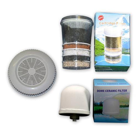 Multi Use pH Elevation Benchtop Gravity Water Filter cartridge replacement pack