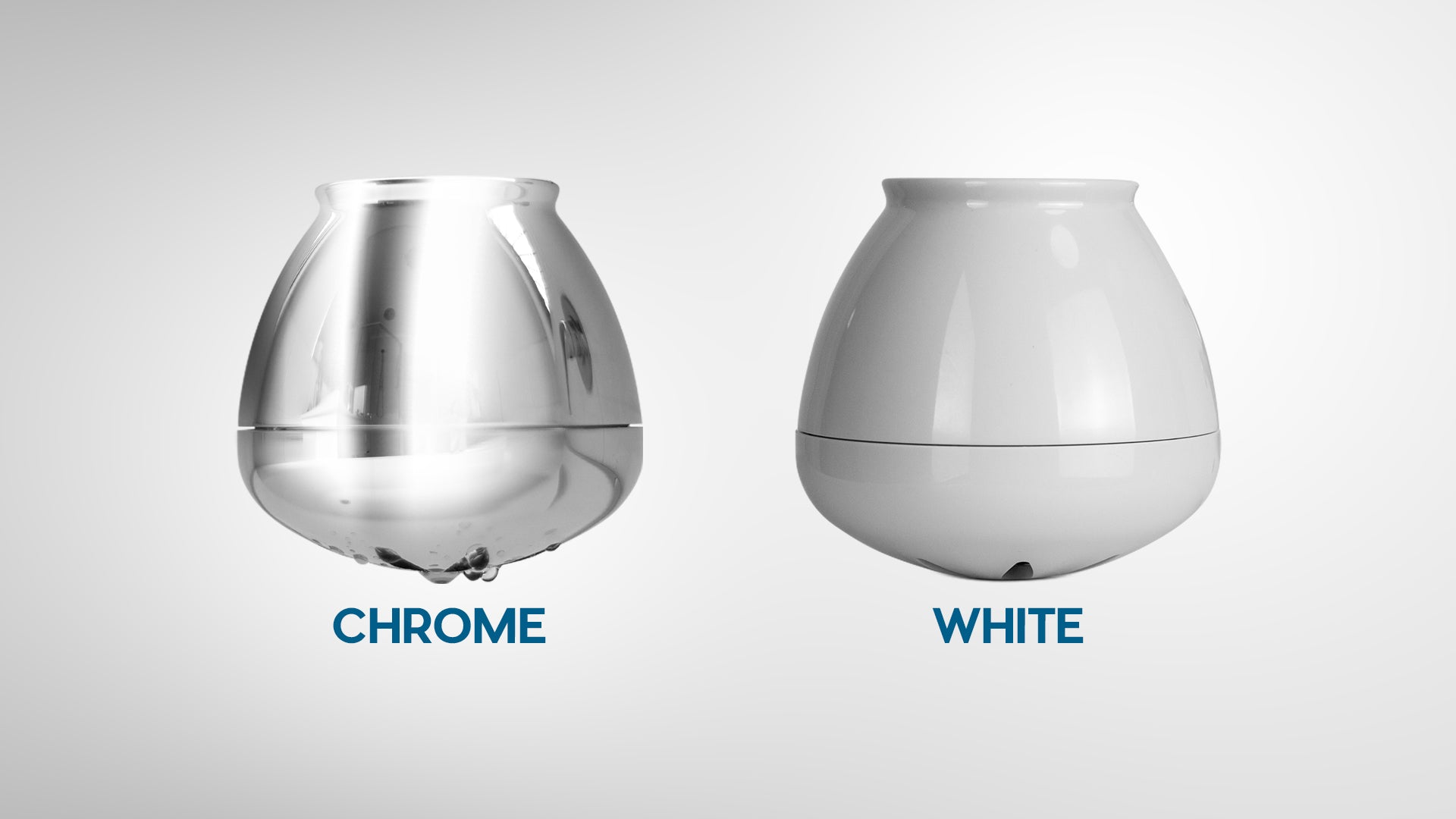Chrome and White colors