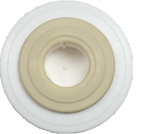 Fluoride Removal Cartridge Top (ring around washer)