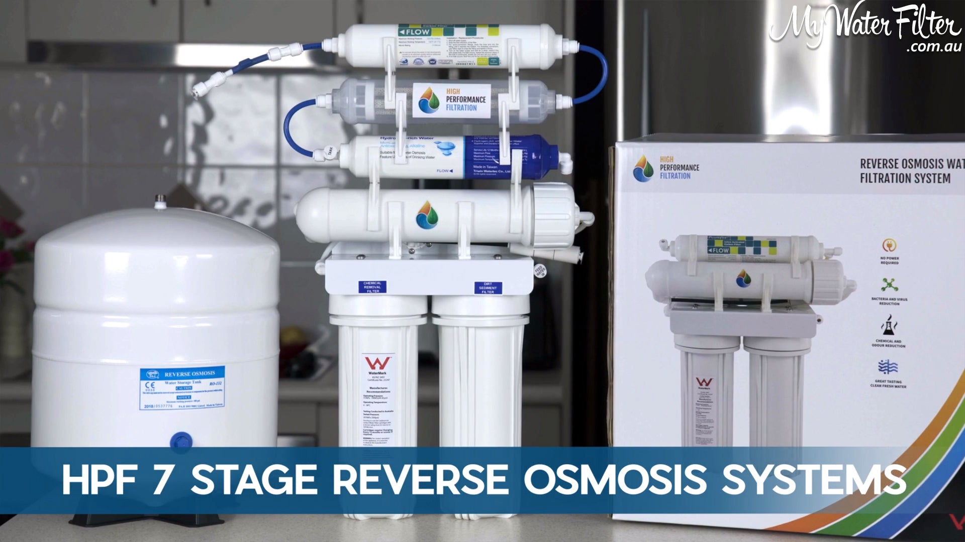 HPF 7 Stage Reverse Osmosis