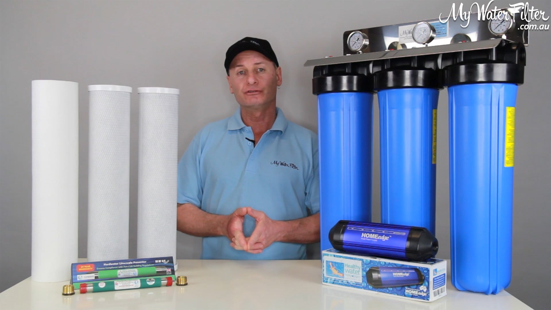 My Water Filter Whole House Water Filtration System