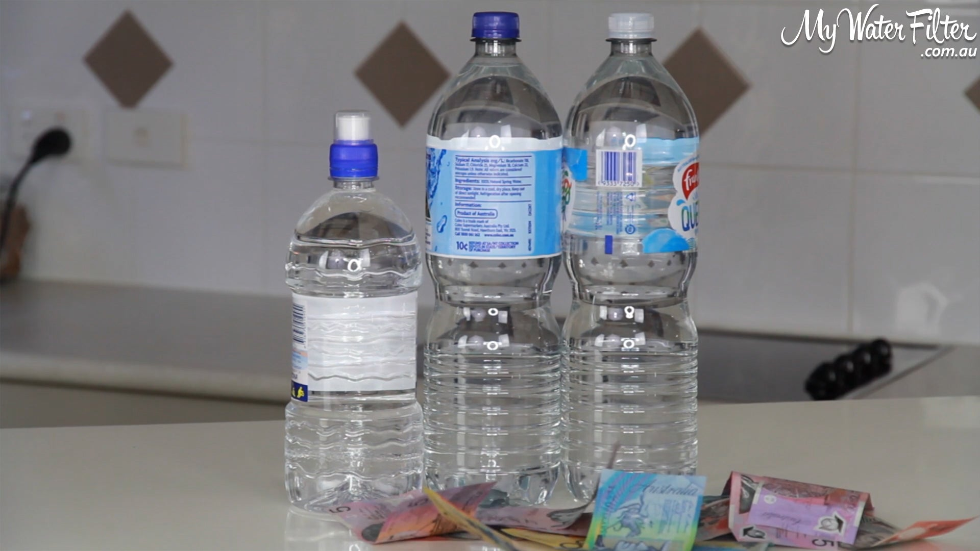 Save Money not buying bottled water