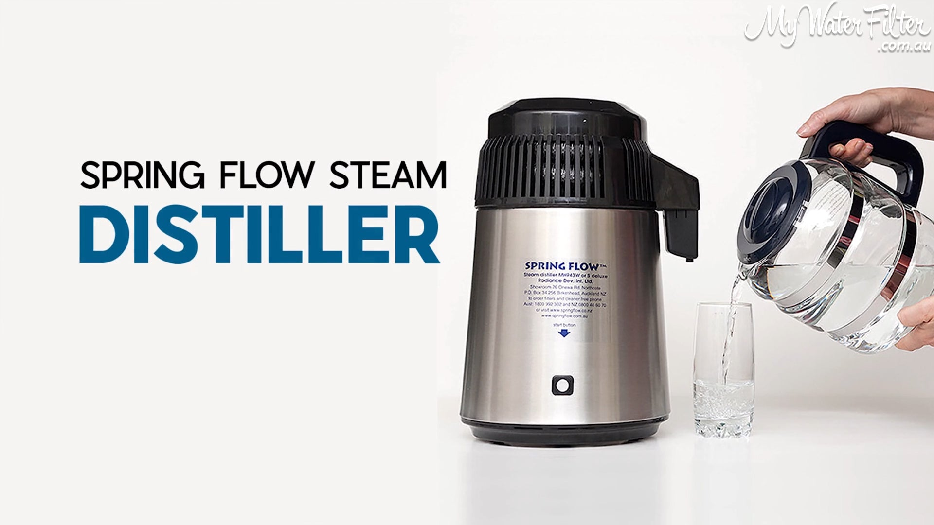 Spring Flow Steam Distiller