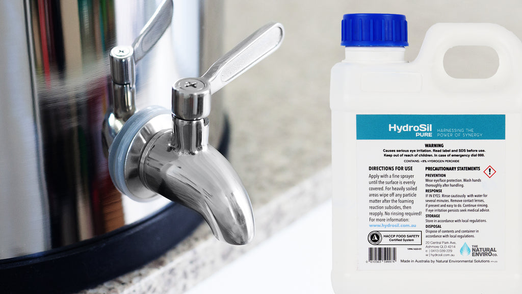 Stainless Steel Tap with Hydrosil