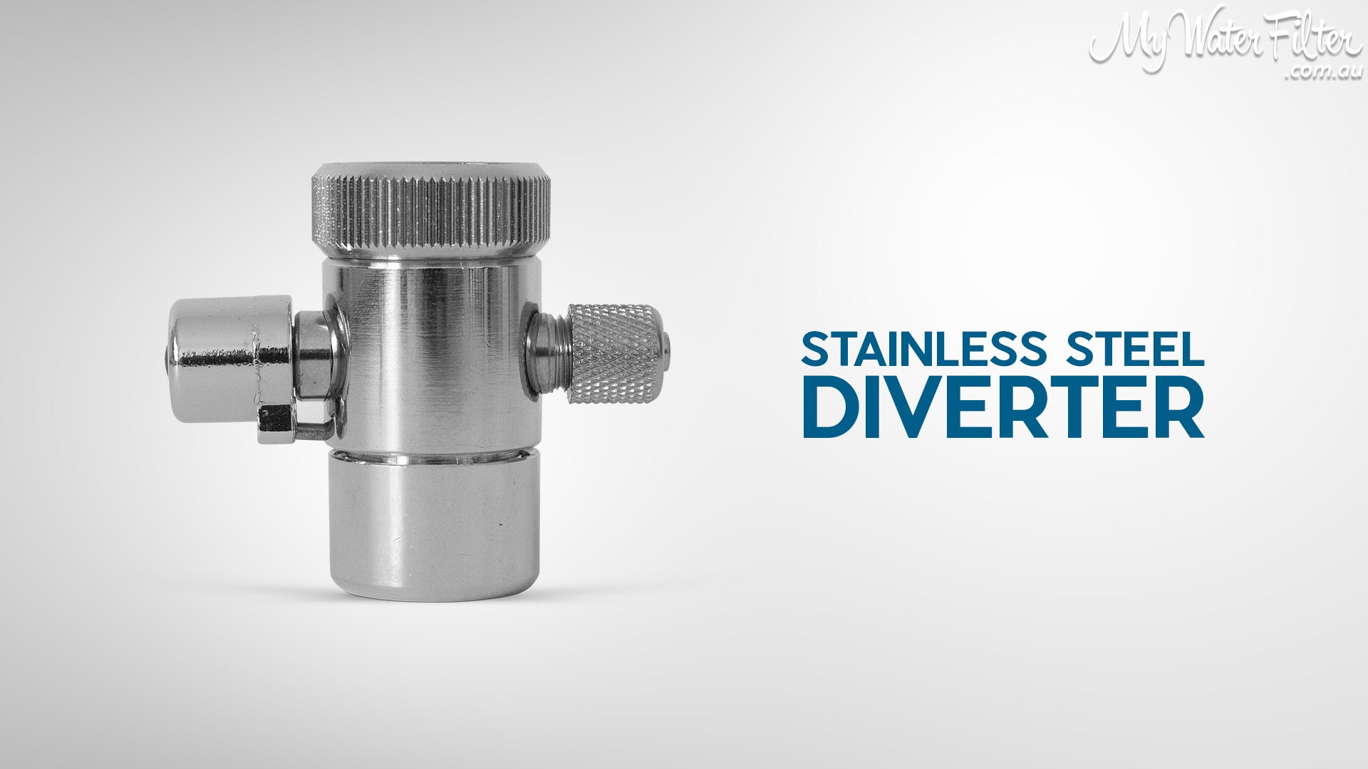 Stainless Steel Water Filter Diverter