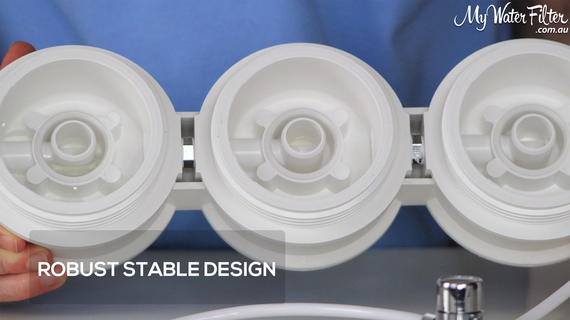 Ultrapure Ceramic Benchtop Water Filter Robust Stable Design