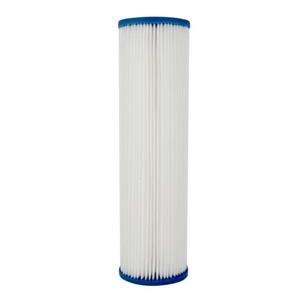 "10 Micron Pleated Sediment Water Filter Replacement Cartridge 10"" x 2.5"""