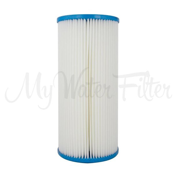 "Unicel 1 Micron Pleated Sediment Whole House Water Filter Replacement Cartridge 10"" x 4.5"""