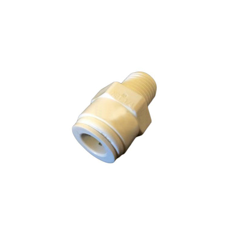 "Straight Adaptor 3-8"" Tube x 1-4"" Thread"