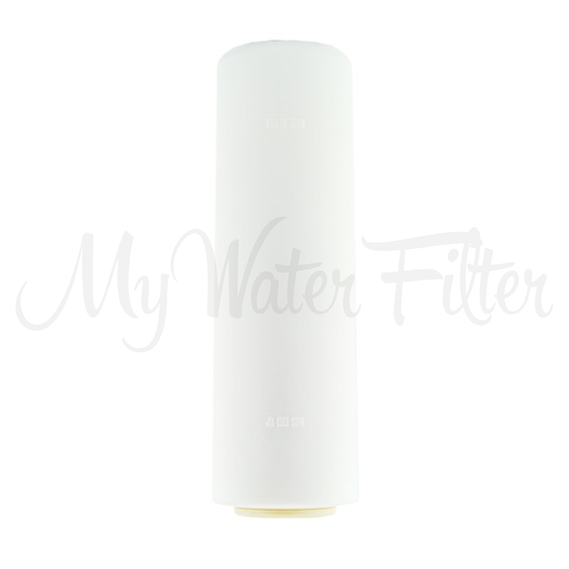 "ULTRAPURE Aragon 10"" Triple Benchtop City Water Filter with Fluoride Removal & Sediment Protection"