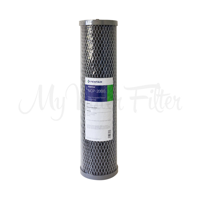 "MWF 20"" x 4.5"" Twin Big Blue Whole House LOW PRESSURE Rain Water Tank Filter System Complete with Ultraviolet Light & Positive Charged Water Magnet"