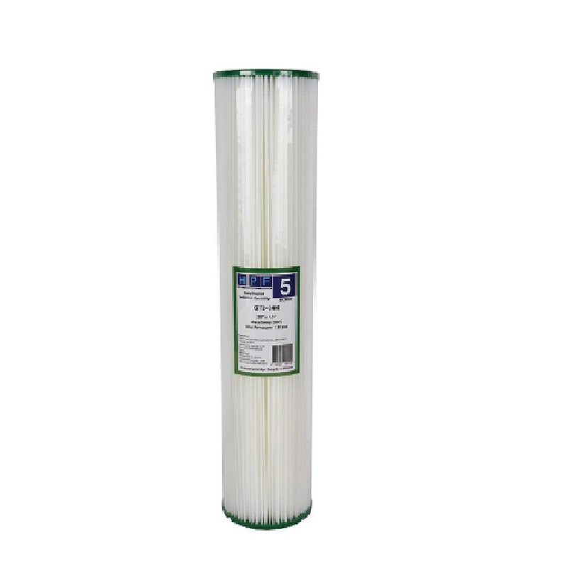 "Replacement Cartridge Pack for MWF 20"" x 4.5"" Single Big Blue Whole House Water Filter System"