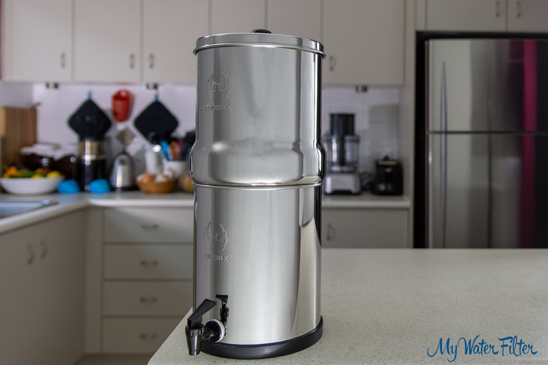 Phoenix Stainless Steel Gravity Water Filter