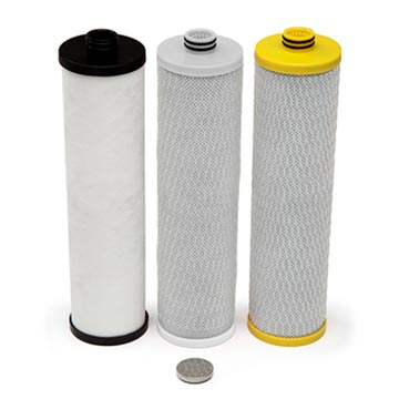 Aquasana AQ-5300+R Replacement Cartridge Pack to suit Aquasana Max Flow 3 Stage Under Counter Drinking Water Filter