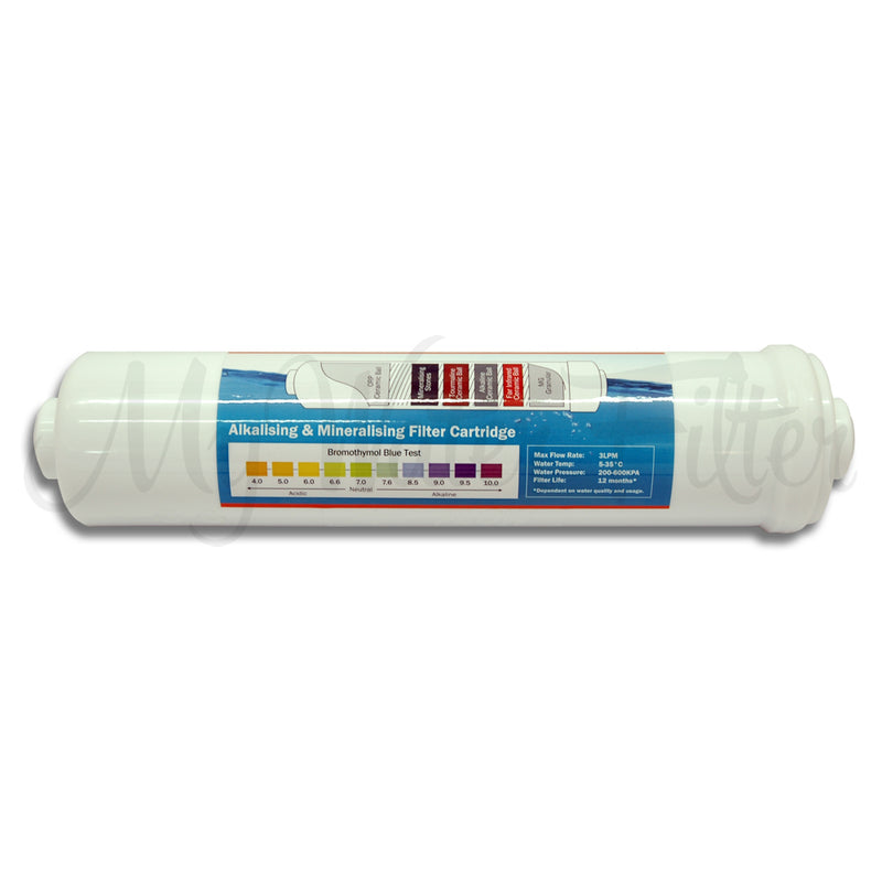 K Series Alkaline Water Filter Replacement Cartridge 10""
