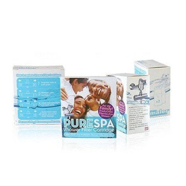 Pure Spa Shower Filter Replacement Cartridge