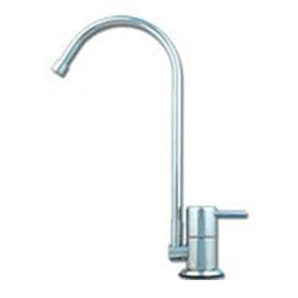 Euro High Loop Water Filter Faucet - Chrome