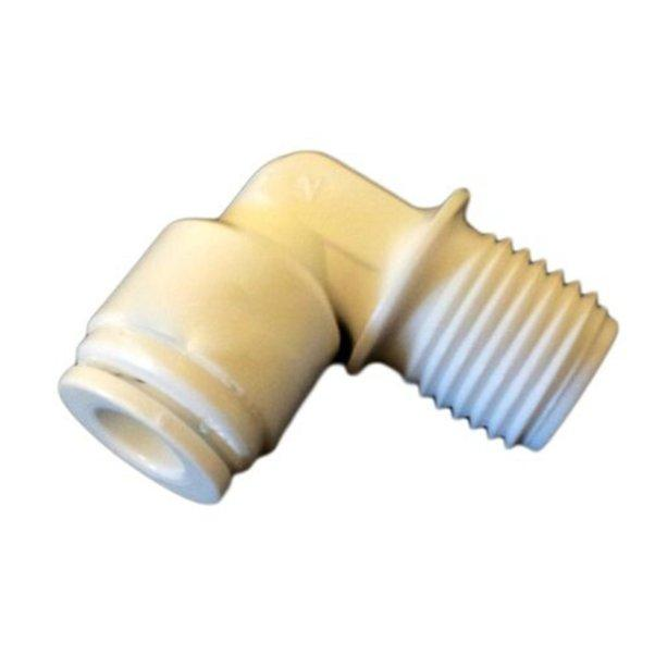 "Quick Connect Elbow 1-4"" Male Thread x 1-4"" Push In Tube"