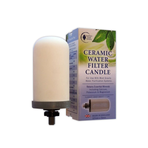 SCP Fluoride Plus Water Filter Replacement Candle for Gravity Urn Water Filters