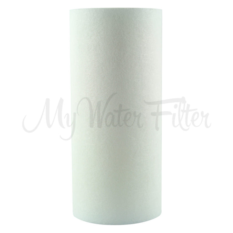 "MWF 10"" x 4.5"" Triple Big Blue Whole House Water Filter System"