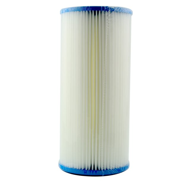 "Unicel 10 Micron Pleated Sediment Whole House Water Filter Replacement Cartridge 10"" x 4.5"""