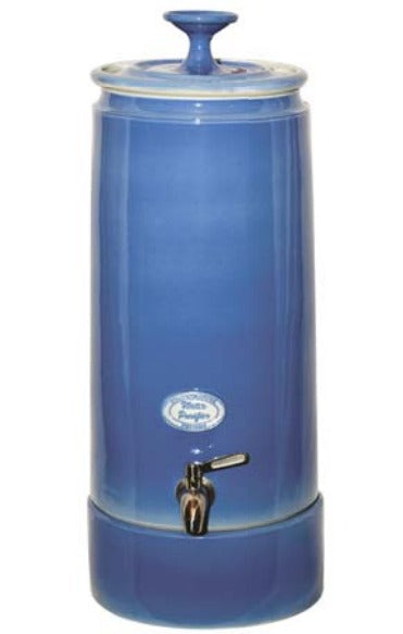 Ultra Slim 10 Litre Gravity Fed Ceramic Stoneware Water Filter with Doulton Super Sterasyl