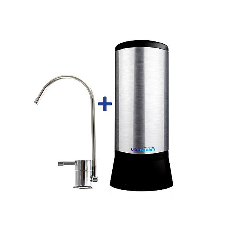UltraStream Hydrogen Rich Ioniser Water Filter System with Under Sink Kit