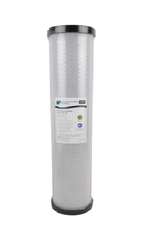 Pure LPD 20 Micron Low Pressure Carbon Block Whole House Water Filter Replacement Cartridge 20