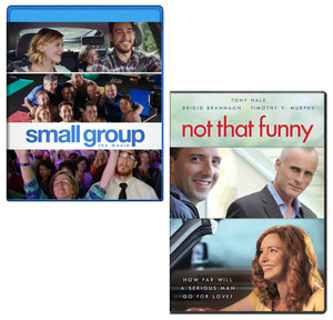 Small Group Blu-ray & Not That Funny DVD - 2-Pack