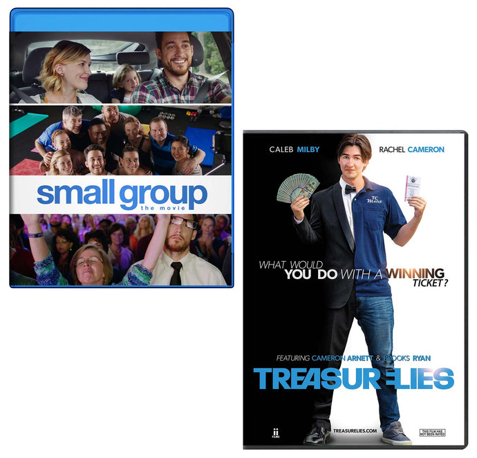 Small Group Blu-ray & Treasure Lies DVD - 2-Pack