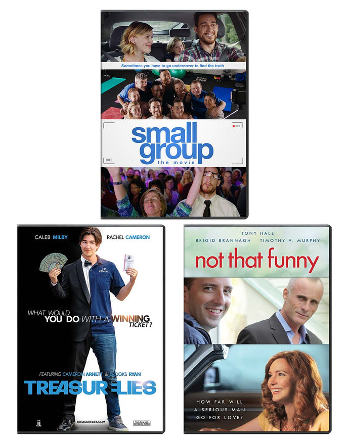 Small Group & Treasure Lies & Not That Funny - DVD 3-Pack